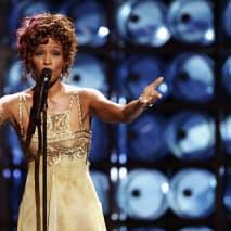 Whitney Houston at the 2004 World Music Awards.