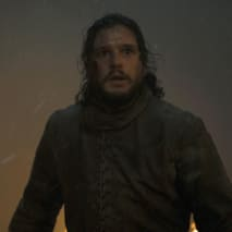 Jon Snow looking a bit worried.