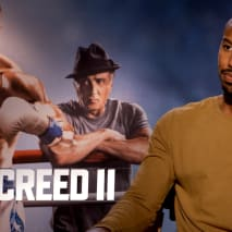 Michael B. Jordan during 'Creed II' junket
