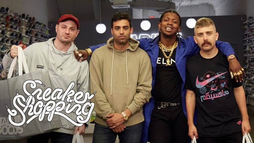 Full Size Run Goes Sneaker Shopping With Complex | Sneaker Shopping