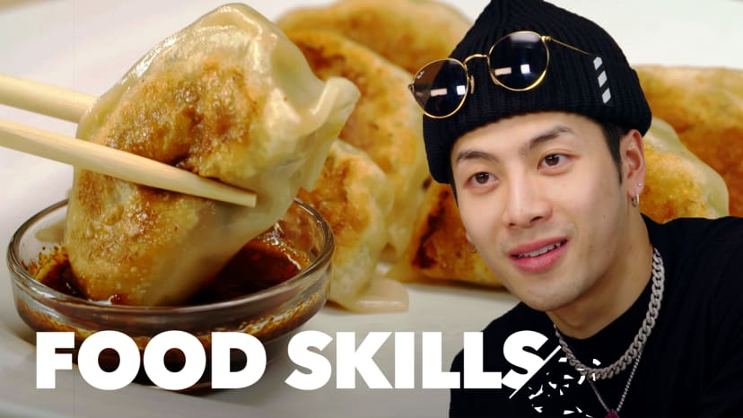 Jackson Wang Learns How to Make Dumplings | Food Skills