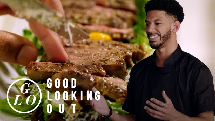 A Hungry Young Chef Cooks for Trap Kitchen and A Food Network Champ | Good Looking Out