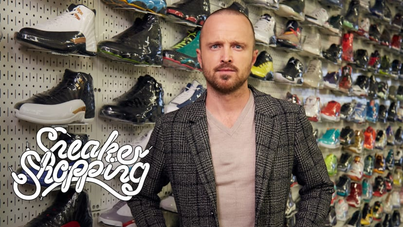 Aaron Paul Goes Sneaker Shopping With Complex | Sneaker Shopping