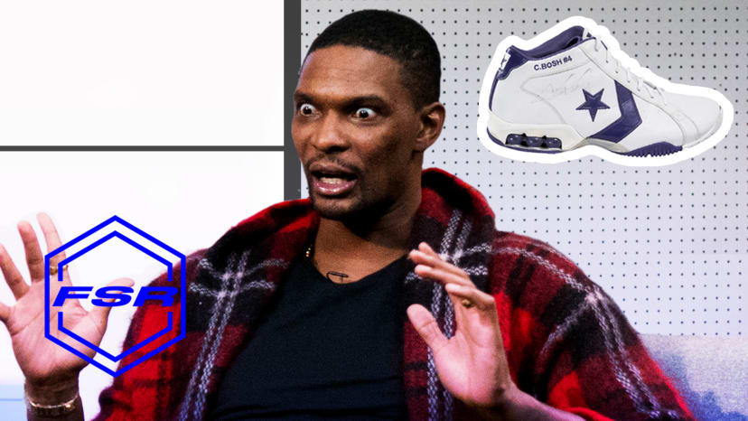 Chris Bosh Laughs at His Sneaker Career and Questionable Outfits  | Full Size Run