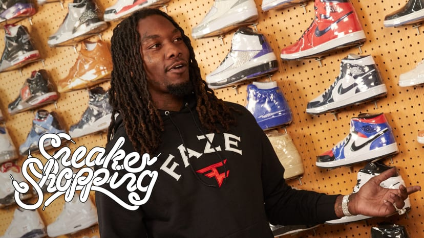 Offset Goes Sneaker Shopping With Complex | Sneaker Shopping