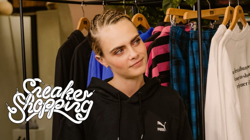 Cara Delevingne Goes Sneaker Shopping With Complex | Sneaker Shopping