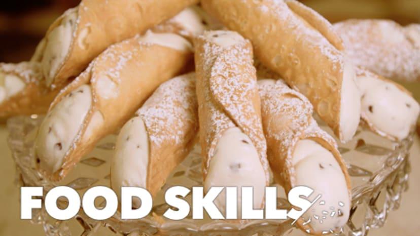 How Cannoli Are Made    Food Skills