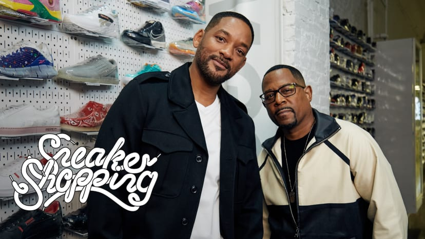 Will Smith And Martin Lawrence Go Sneaker Shopping With Complex