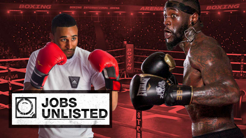 How To Be a Boxer with Deontay Wilder | Jobs Unlisted