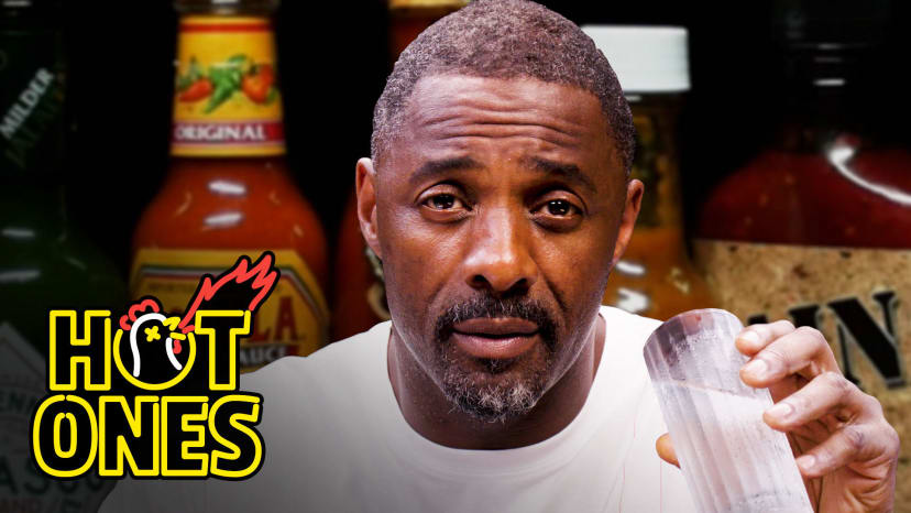 Idris Elba Wants to Fight While Eating Spicy Wings | Hot Ones