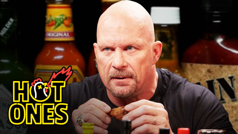 Stone Cold Steve Austin Puts the Stunner on Spicy Wings | Hot Ones