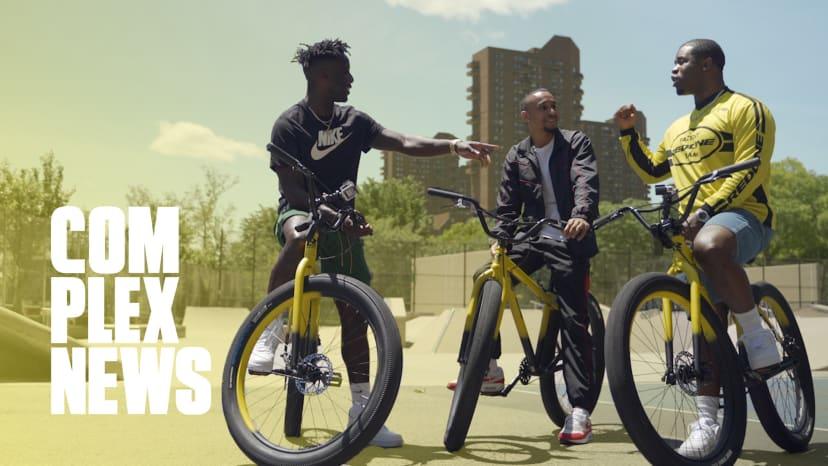 A$AP Ferg and Nigel Sylvester Bike Around Harlem