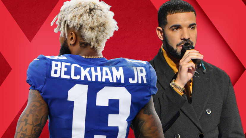 drake plays sideline reporter obj should leave ny out of bounds