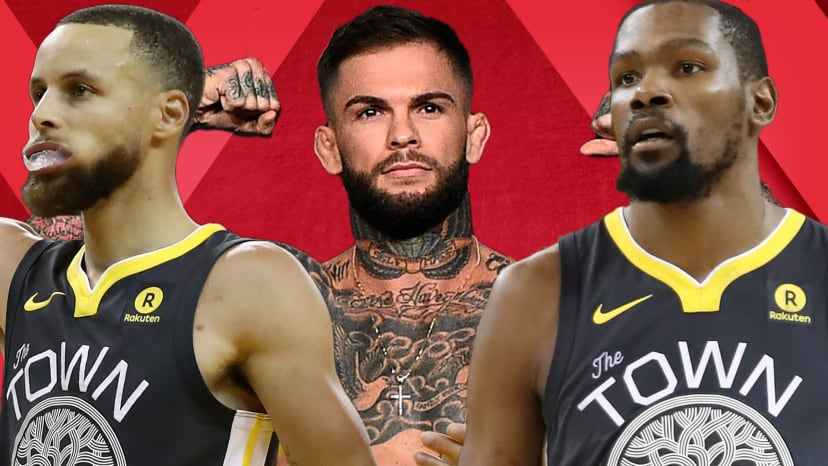 Guest Cody Garbrandt Talks Steph Curry's Record 3's; KD Being a Beta; MMA Kicks | Out of Bounds