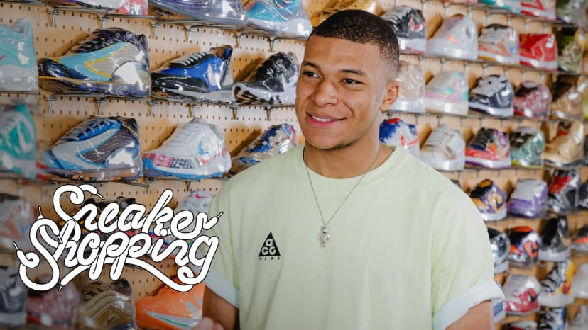 Kylian Mbappé Goes Sneaker Shopping With Complex | Sneaker Shopping
