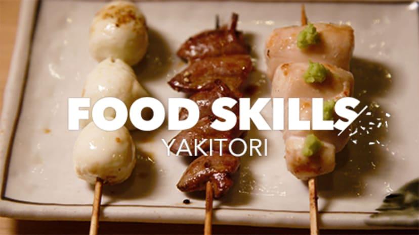 food-skills-yakitori