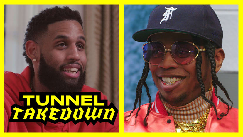 Trinidad James Joins the Show and Allen Crabbe Shows Off His Closet | Tunnel Takedown