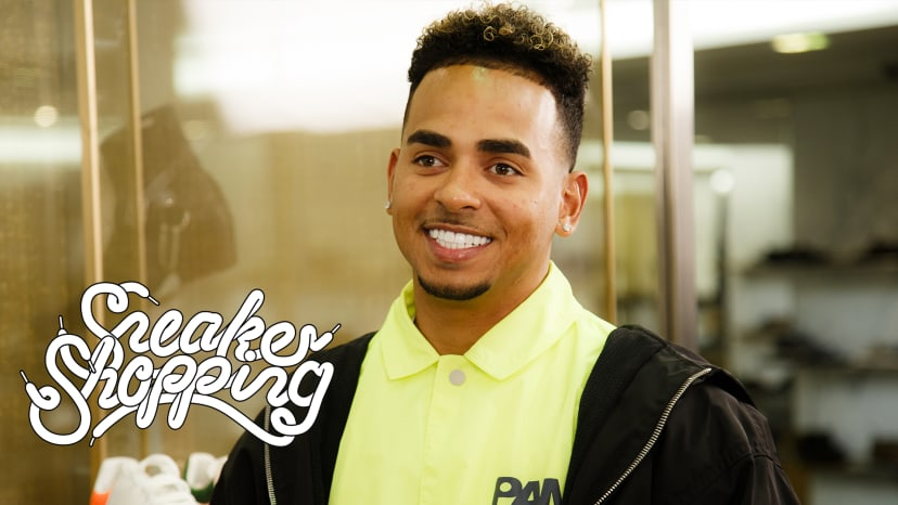Ozuna Goes Sneaker Shopping With Complex | Sneaker Shopping