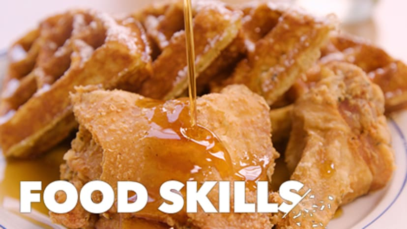 How Sweet Chick Remixes Classic Chicken and Waffles   Food Skills