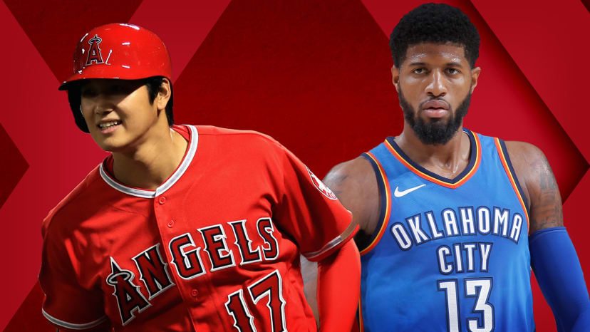"""Shohei Ohtani Crushing MLB; Paul George """"Can See"""" Staying in OKC 