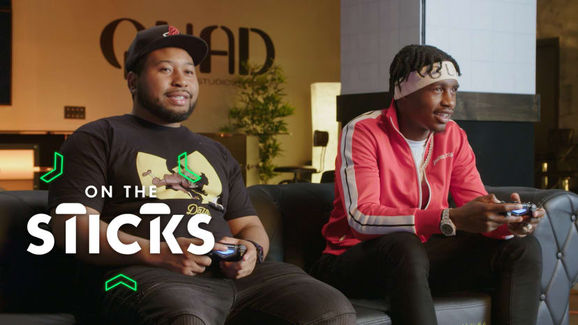 Lil Tjay Tries to Run Laps Around DJ Akademiks in 'Crash Team Racing' | On the Sticks
