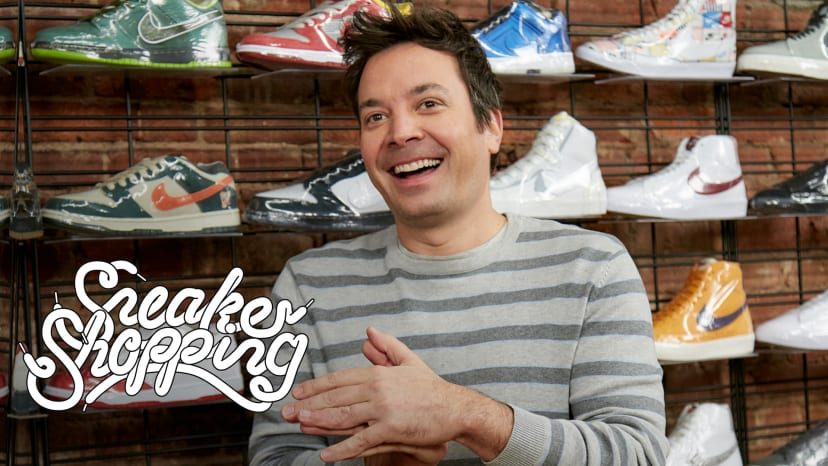 Jimmy Fallon Goes Sneaker Shopping With Complex