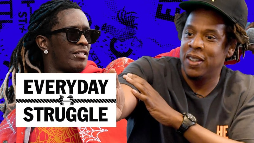 Dame Dash Bashes Jay-Z, Young Thug Says Wayne is Spoiled, Snoop on Nipsey & Tupac | Everyday Struggl