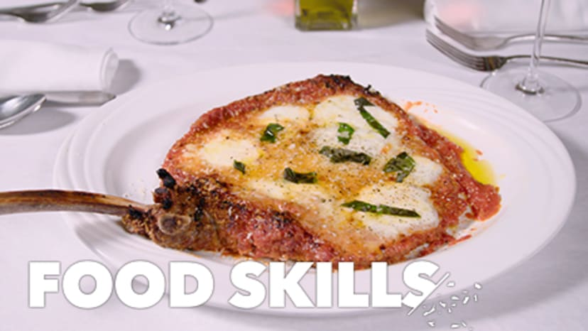 This Monster Veal Parmigiana Is a Red Sauce Classic   Food Skills