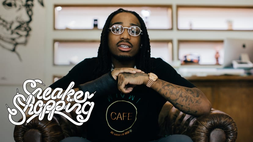 Quavo Goes Sneaker Shopping With Complex | Sneaker shopping