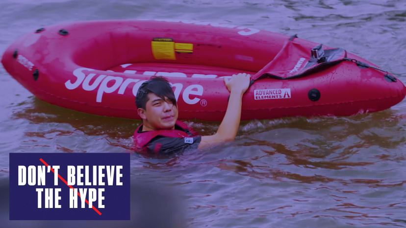 Supreme Kayak...On The Hudson River? | Don't Believe the Hype