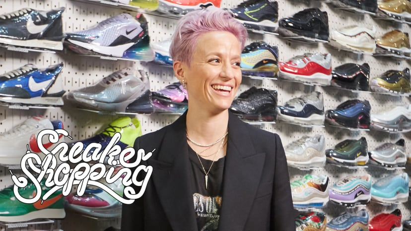 Megan Rapinoe Goes Sneaker Shopping With Complex | Sneaker Shopping