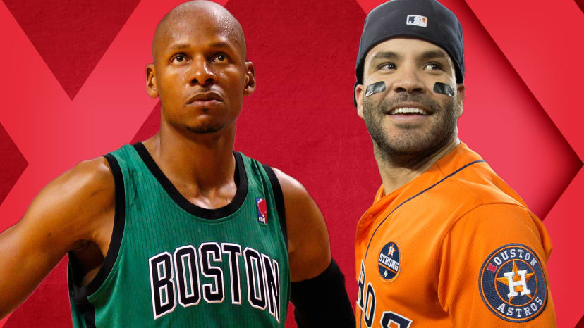Jose Altuve Trump Death Stare; Ray Allen on Boston Beefs; Contract Clapbacks! | Out of Bounds