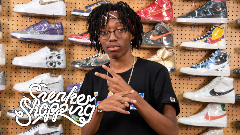 Lil Tecca Goes Sneaker Shopping With Complex | Sneaker Shopping