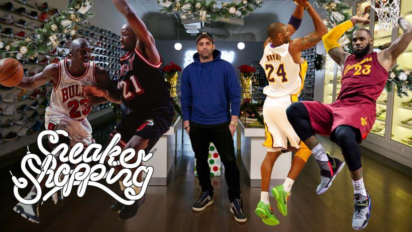 Joe La Puma Hosts The NBA Christmas Day Sneaker Shopping Special
