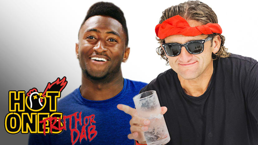 Marques Brownlee and Casey Neistat Play Truth or Dab | Hot OnesPlay Truth or Dab | Hot Ones