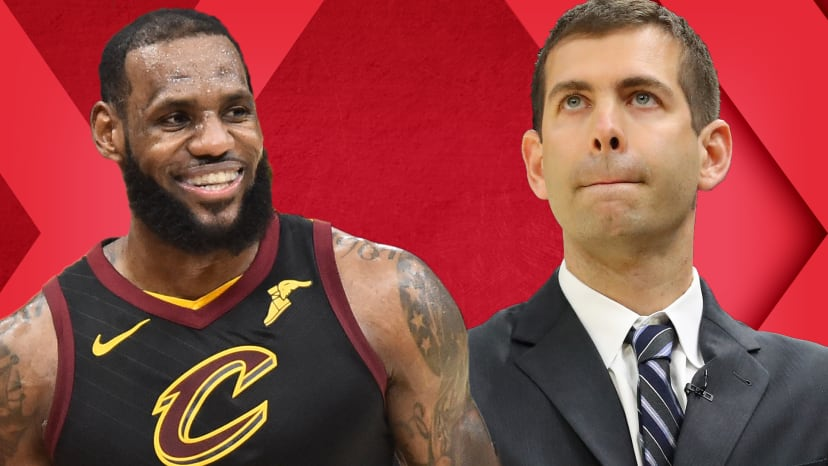LeBron Breaks Playoff Scoring Record in Win; Is Brad Stevens' Coaching Overrated? | Out of Bounds