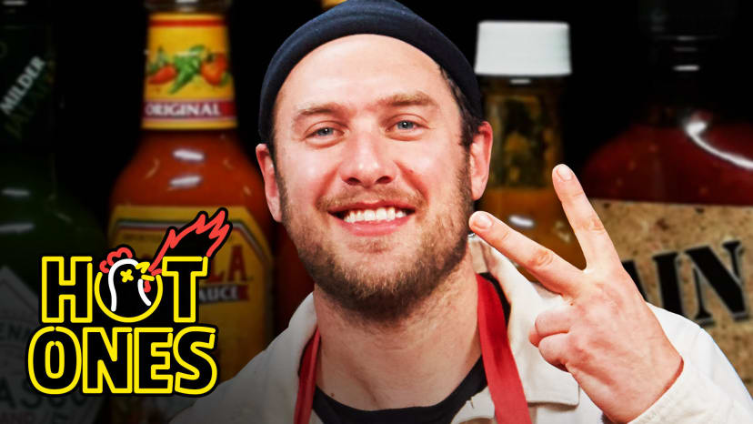 Brad Leone Celebrates Thanksgiving With Spicy Wings | Hot Ones