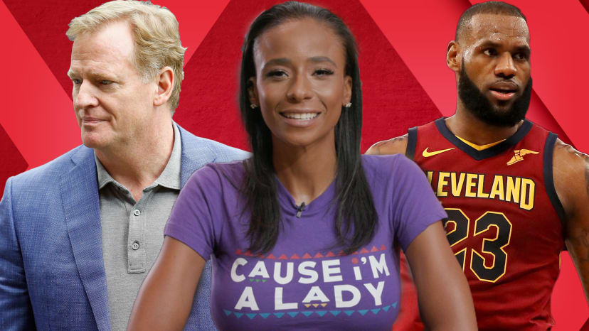 miko grimes talks lebron james and roger goodell