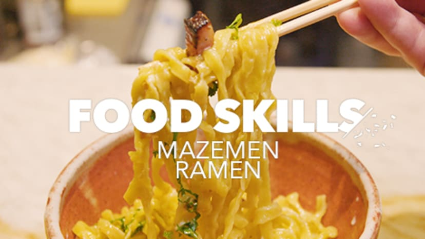 food-skills-osakana-mazemen-ramen