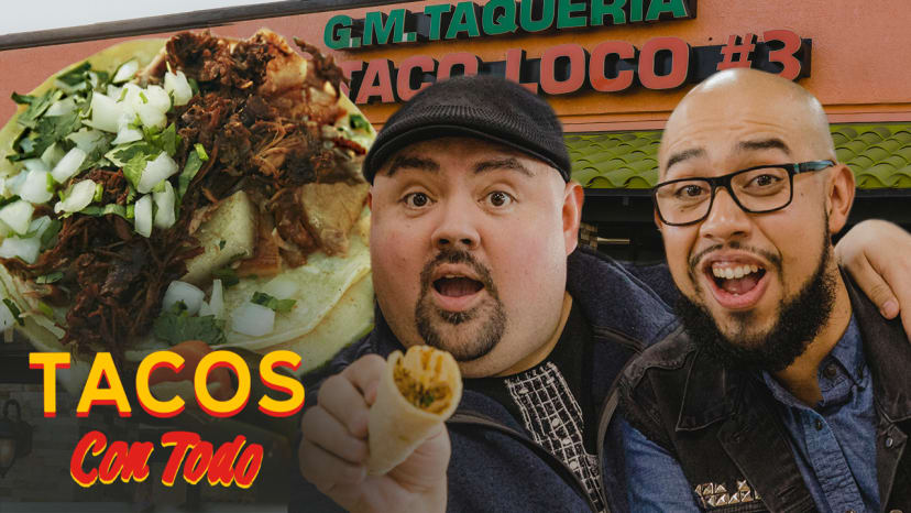 Gabriel Iglesias Shows Off His Favorite Taco Spot and Expensive Car Collection | Tacos Con Todo