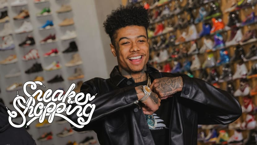 Blueface Goes Sneaker Shopping With Complex | Sneaker Shopping