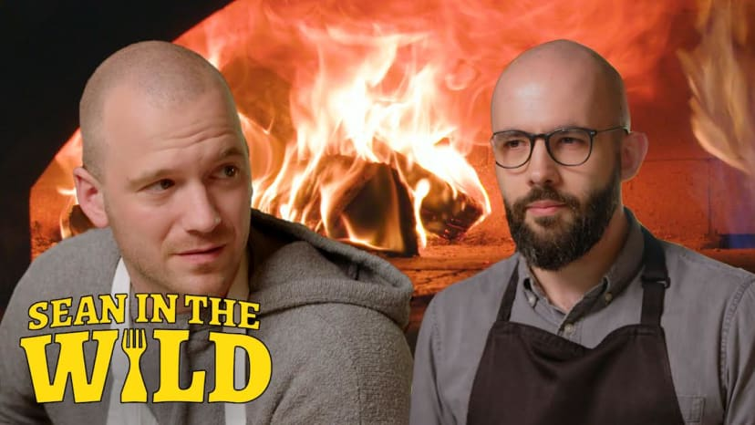 Binging with Babish and Sean Evans Battle to Make the Perfect Filled Calzone | Sean in the Wild
