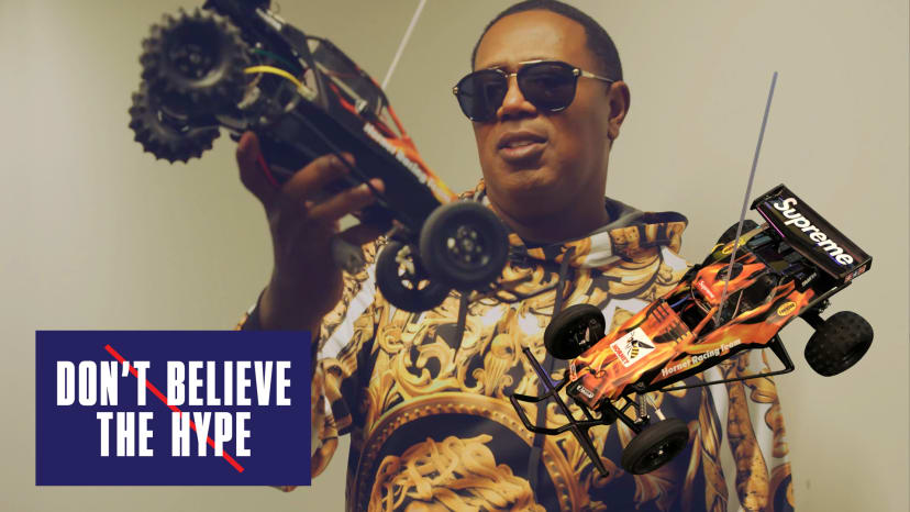 Master P Breaks the Supreme RC Hornet Car | Don't Believe the Hype