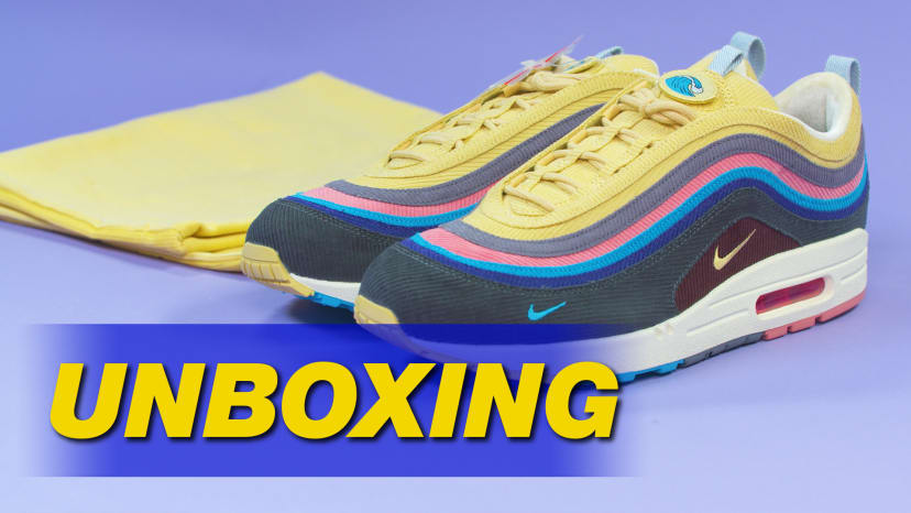 competitive price c1864 aca06 Sean Wotherspoon x Nike Air Max 97 1 Unboxing Thumbnail