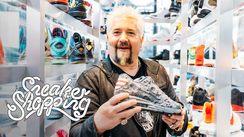 Guy Fieri Goes Sneaker Shopping with Complex | Sneaker Shopping