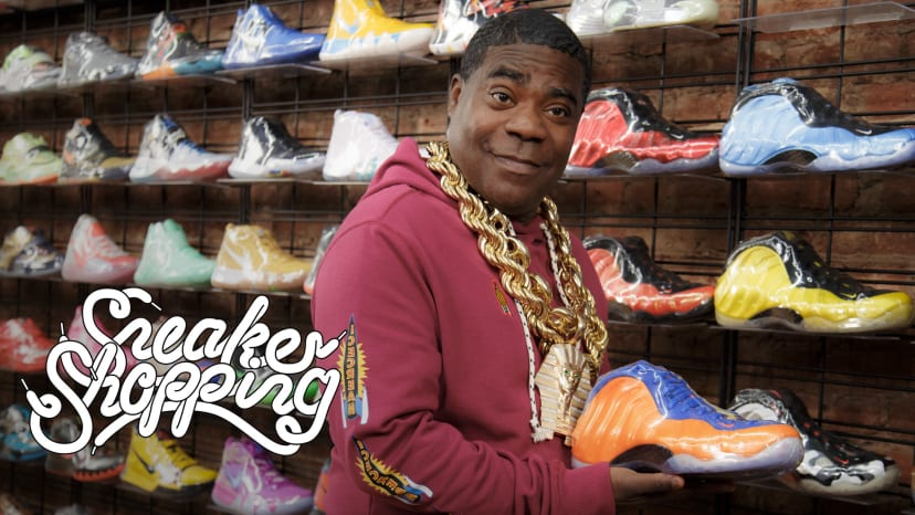 Tracy Morgan Goes Sneaker Shopping With Complex | Sneaker Shopping
