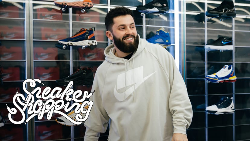 Baker Mayfield Goes Sneaker Shopping With Complex | Sneaker Shopping