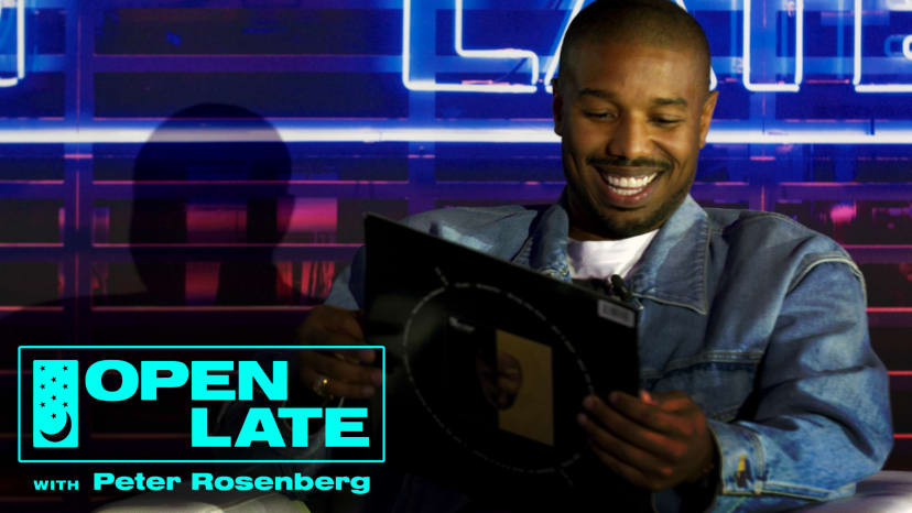 Michael B. Jordan on Open Late with Peter Rosenberg during ComplexCon 2018