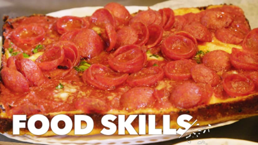 Detroit Pizza Gets a New York Twist From These NYC Slice Masters | Food Skills