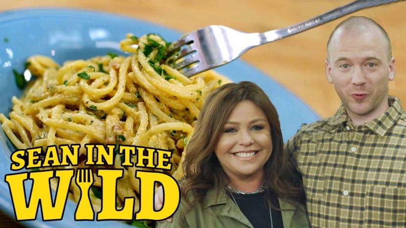 Rachael Ray Teaches Sean Evans How to Make Pasta Carbonara   Sean in the Wild